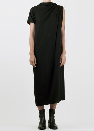trammel dress - black