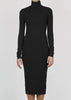 tread dress - black