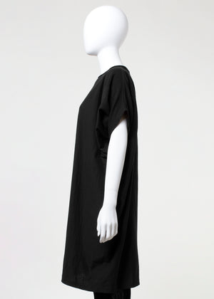 trench tunic - black