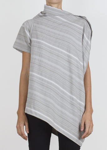 waver top - smoke stripe