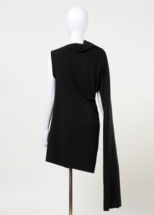 ulaan dress - black