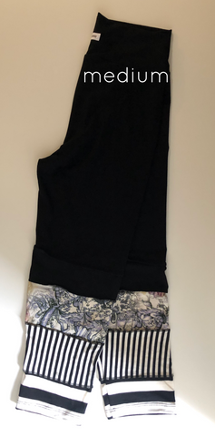 One of a Kind bamboo leggings M