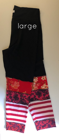 One of a Kind bamboo leggings L