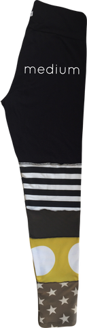 Stripey leggings - medium #4