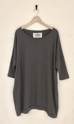 giant sweatshirt - charcoal $88