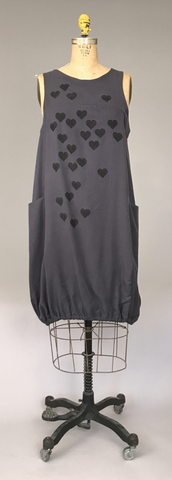 Pocket Dress - Hearts   $168