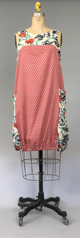 Pocket Dress - Peonies #2  $128