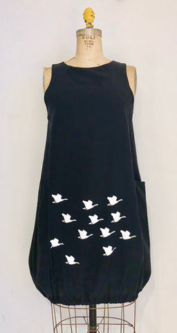 Pocket Dress - Canada Geese   $148