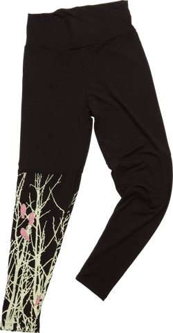little pink birds leggings $78