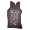 Frisbee moves tank top