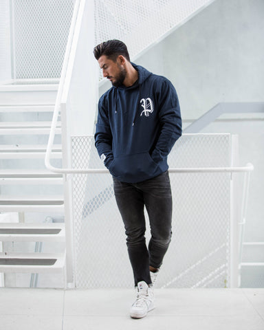 PROVOKE P hood, navy/white