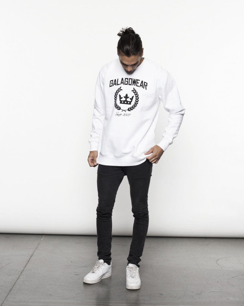 Logo sweatshirt - white