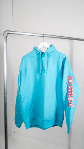 Light blue hood