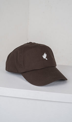 Soft sport cap - brown