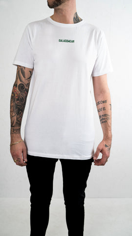 Small logo Tee - White / Green