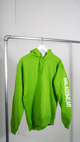 Light green hood