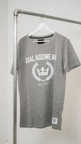 Logo t-shirt - grey/white