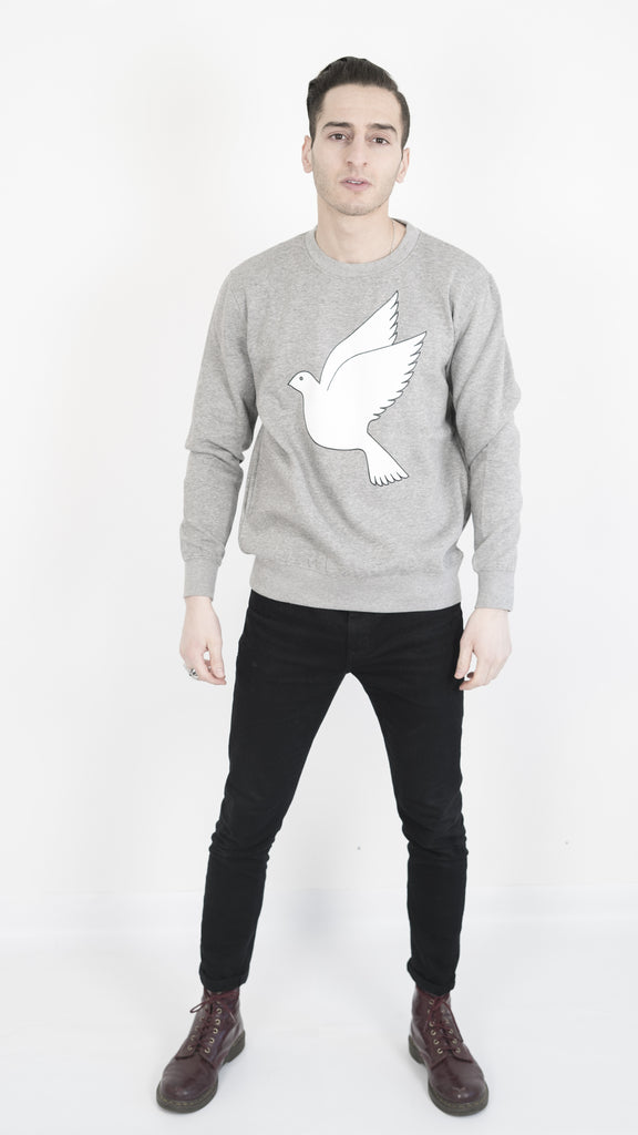 Save us sweatshirt - grey