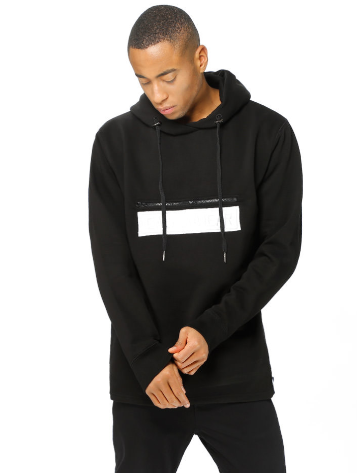 Patch hood - black
