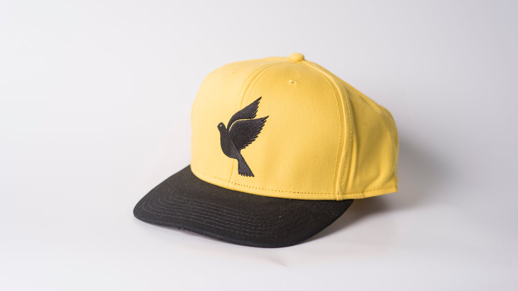 Snapback - yellow/black