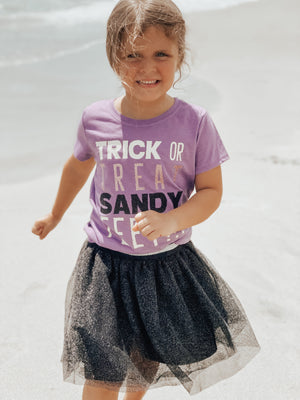 Trick-Or-Treat Sandy Feet