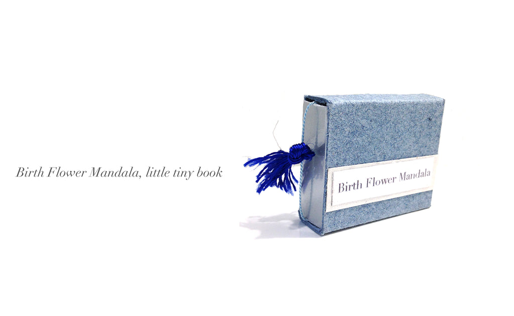 Little tiny book soon to be for sale.