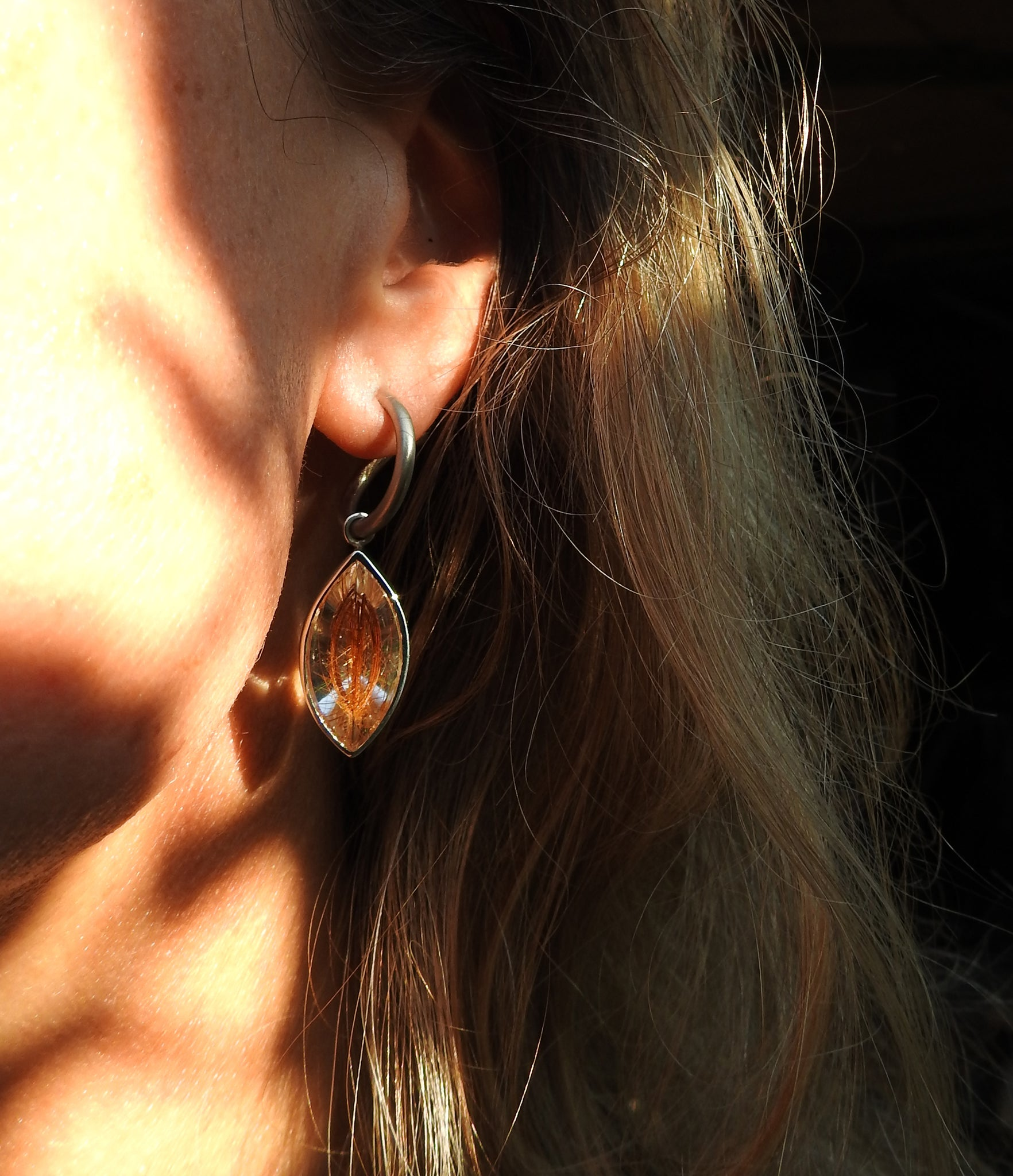 Earrings made by ZEALmetal, Nicole Horlor, Kingston, ON, Canada