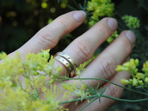 Canadian, local, handmade jewellery and commissioned wedding band and engagement rings By ZEALmetal, Nicole Horlor, in Kingston, ON, Canada