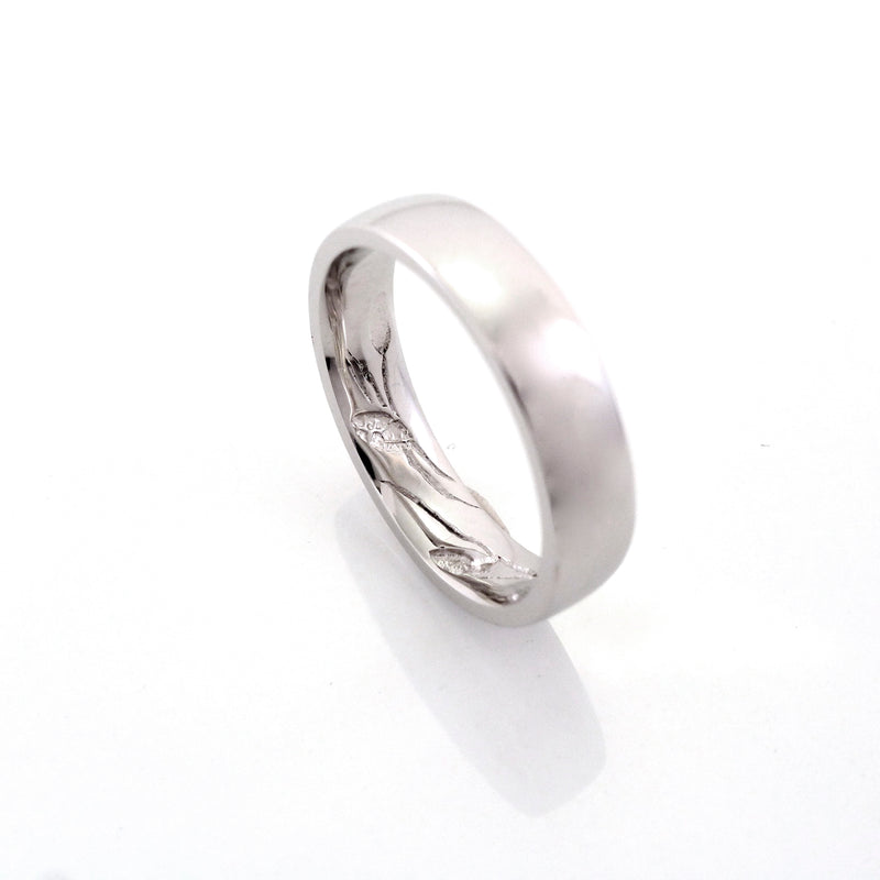 Custom Platinum ring made by ZEALmetal, Nicole Horlor, Kingston, ON Canada