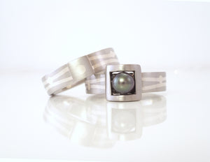 Custom wedding bands by ZEALmetal in Kingston ON Canada