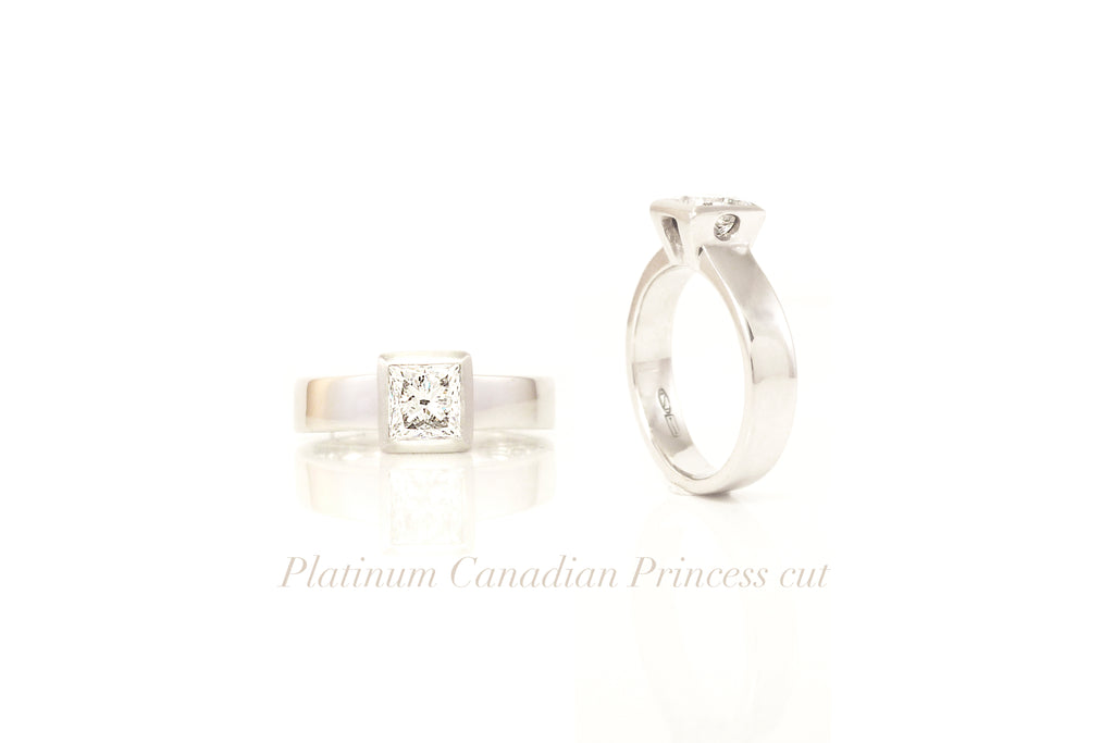 Platinum diamond engagement rings by ZEALmetal in Kingston ON Canada