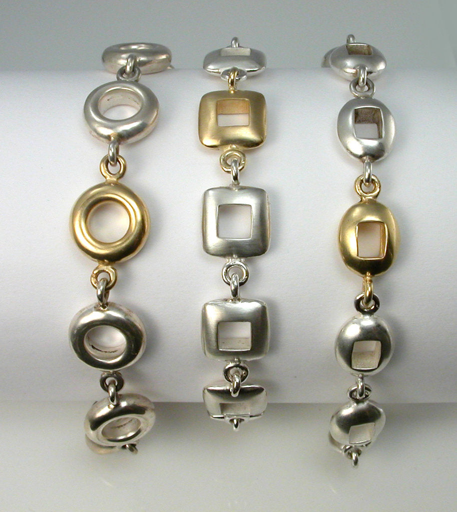 Soft shaped bracelets