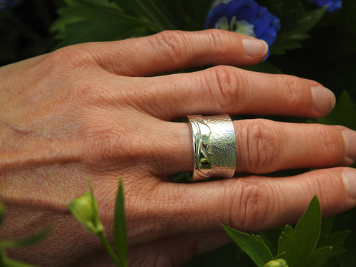 Sterling silver, Gold, Platinum, gemstone and diamond Rings, made by ZEALmetal, Nicole Horlor,  Kingston, ON, Canada