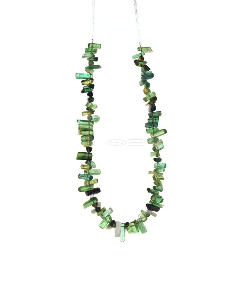 Tourmaline necklace made by ZEALmetal in Kingston ON