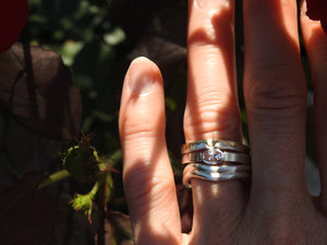 Handmade rings by ZEALmetal, Nicole Horlor in Kingston, ON, Canada, available for world wide shipping