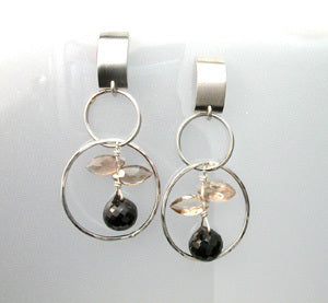 Circle steel dangle