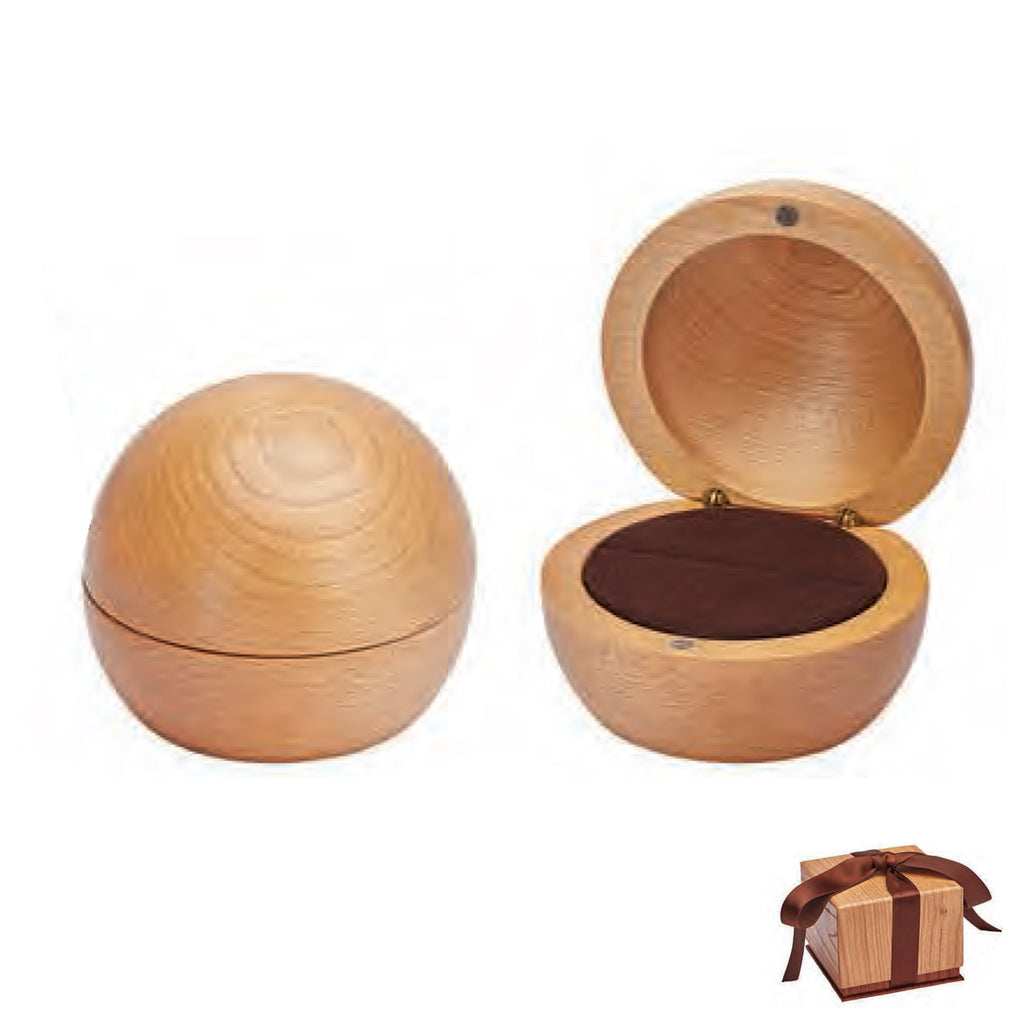 Globe Wood single ring box