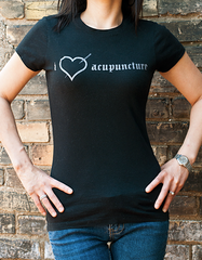 i love acupuncture t-shirt (womens)