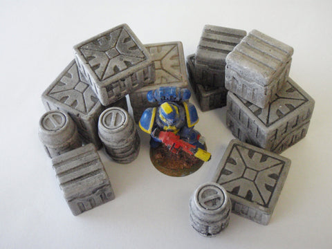 12pc SCI-FI CONTAINERS