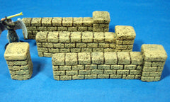 Brick Walls - Sandstone 3pc