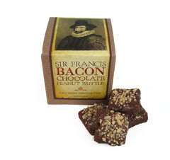 Sir Francis Bacon Chocolate Peanut Brittle - 3 oz