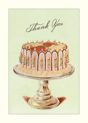 Cake Glitter Greetings Thank You Notes