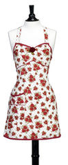 Red Fall Botanical Joan Apron