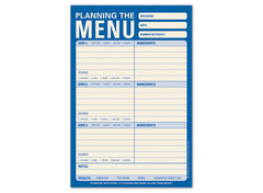 Planning the Menu Pad