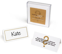 Party Topics Placecards