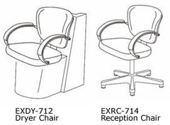 RC-714 Libra Reception Chair by Takara Belmont