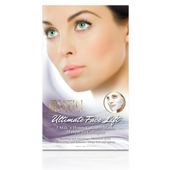 Satin Smooth Ultimate Face Lift Collagen Mask 3-Pack SSCLGMK3