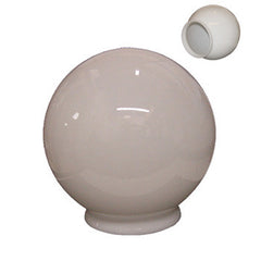 William Marvy Barber Pole Replacement Parts Glass Globes (for top of