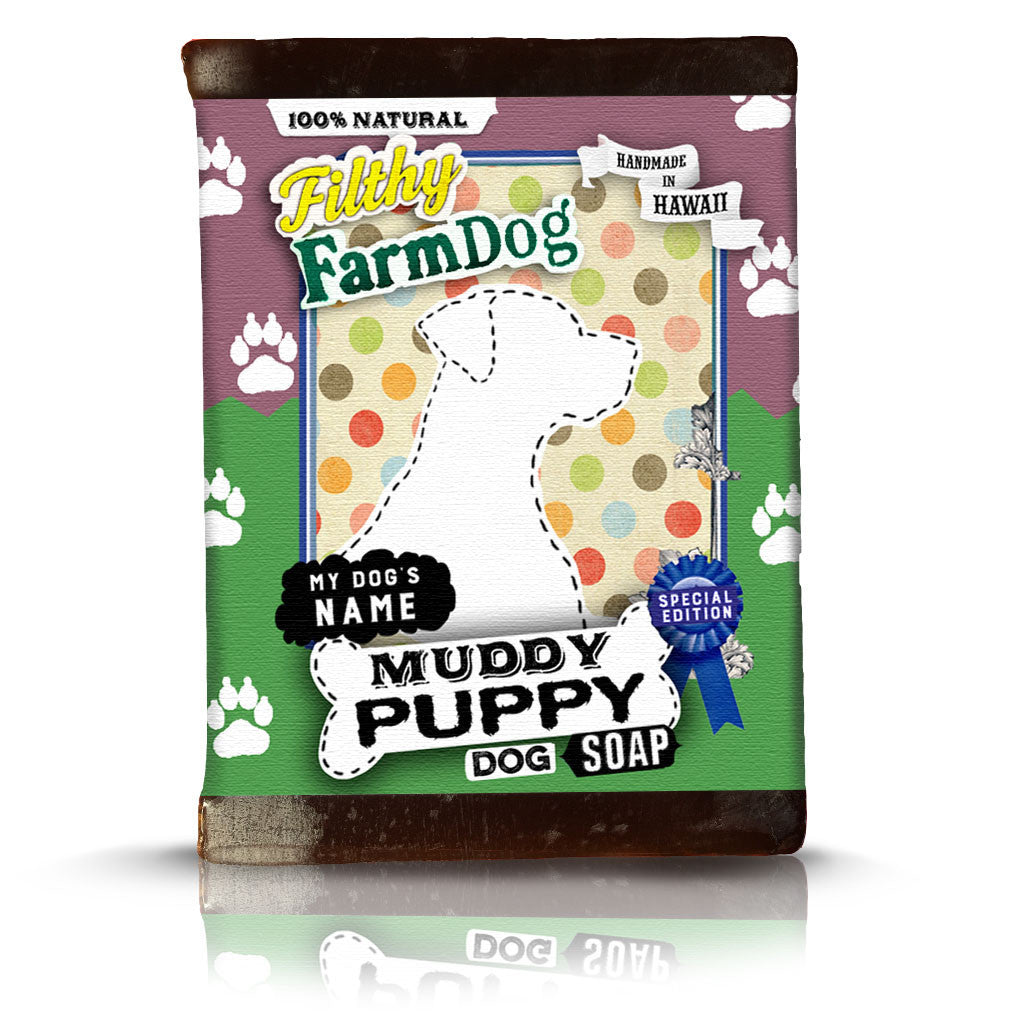 Muddy Puppy - Custom Label