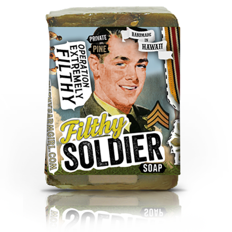 Filthy Soldier Soap